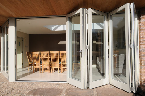 Folding Stack Away Doors Starlite Aluminium