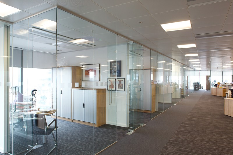 Office Glass Partition StarLite Aluminium