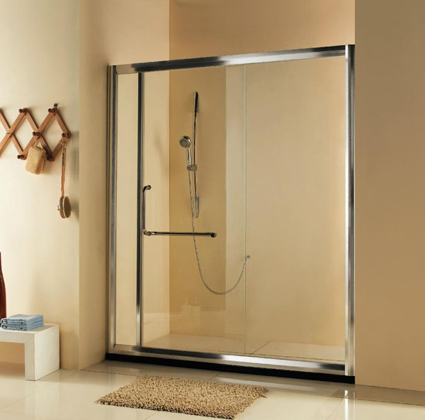 Shower doors starlite aluminium Sliding glass shower doors