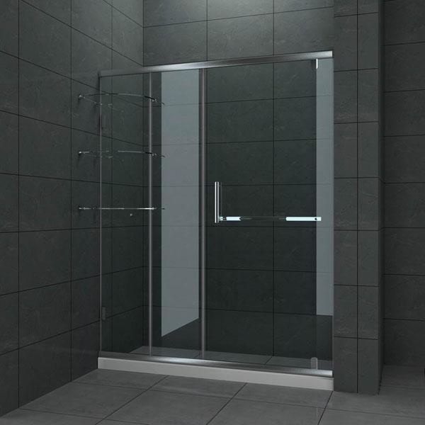 Shower doors starlite aluminium for Aluminium bathroom door designs