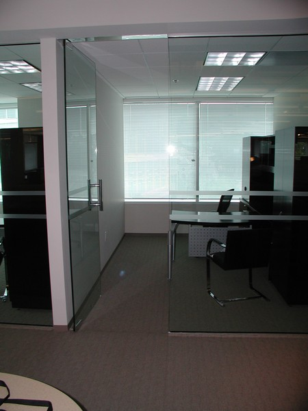 office glass partition starlite aluminium